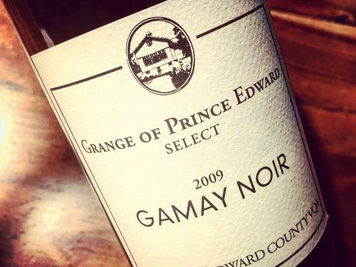 Grange of Prince Edward Gamay Noir Select VQA Prince Edward County 2009