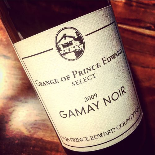 Grange of Prince Edward Gamay Noir Select VQA Prince Edward County 2009