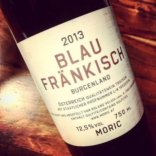 Weingut Moric Blaufränkisch Burgenland 2013